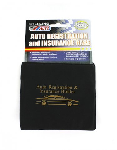 Vehicle Insurance & Registration Case Holder Folder Wallet for Auto Car Truck