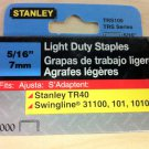 "Stanley 5/16"" TRS105 Light Duty Staples - 1000 Count Box"