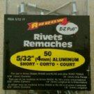 Arrow E-Z Pull RSA 5/32 IP (4mm) Short Aluminum Rivets (50-Pack)