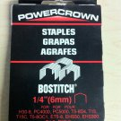 "Stanley-Bostitch Powercrown 1/4"" Staples STCR5019 (1000 Pack)"