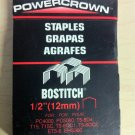"Stanley-Bostitch Powercrown 1/2"" Staples STCR5019 (1000 Pack)"