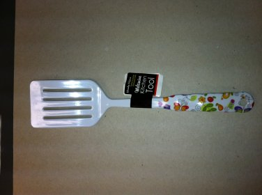 Melamine Kitchen Serving Utensil - Slotted Spatula