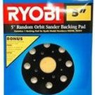 "Ryobi 5"" Random Orbit Sander Backing Pad Pads"