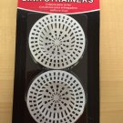 Plastic Sink Strainers - Pack of 2