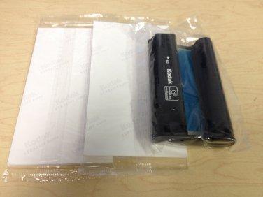 Kodak Easyshare Printer PH-40 Color Ink Cartridge & 2 Paper Packs (40 Sheets)