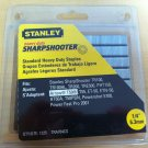 "Stanley 1/4"" Heavy Duty Sharpshooter Staples TRA704CS - 1325 Count Pack"