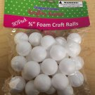 "Styrofoam Foam Craft Balls 3/4"" 30 Pack"
