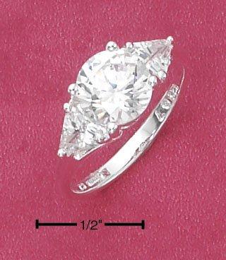 CUBIC ZIRCONIA RING 8 MM (SR-2221)