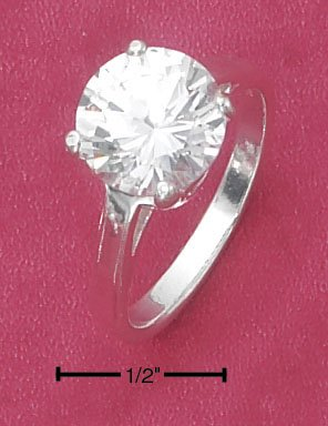 CUBIC ZIRCONIA 10MM RING (SR-2220)