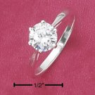 CUBIC ZIRCONIA 6MM RING (SR-2219)