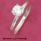 CUBIC ZIRCONIA 5MM RING (SR-2218)