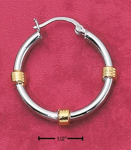 TWO-TONE HOOPS (EA-1914)