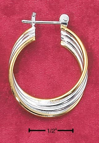 FOUR STRAND HOOPS (EA-63