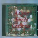 A Quiet Family Christmas Music CD