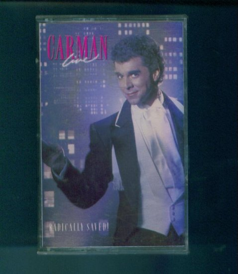 Carman Live Radically Saved Cassette Christian Comedy