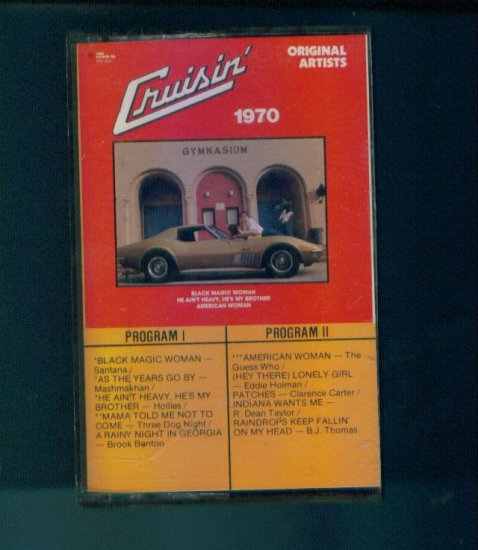 Cruisin' 1970 Cassette Perfect Condition