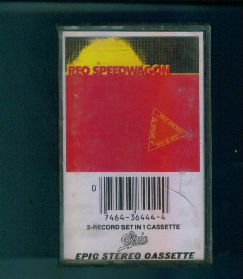 REO Speedwagon A Decade of Rock and Roll 1970 - 1980 Cassette