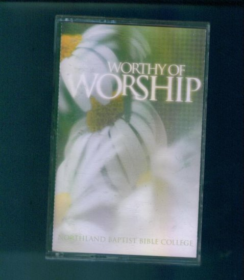 Worthy of Worship Cassette Christian Inspirational Music Awesome box1