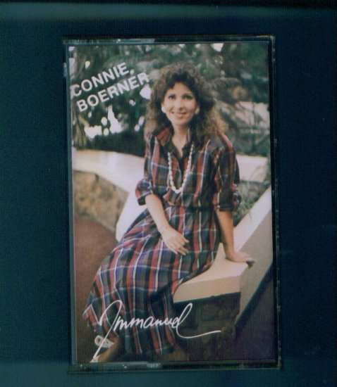 Connie Boerner Immanuel Cassette Christian Praise Music box1