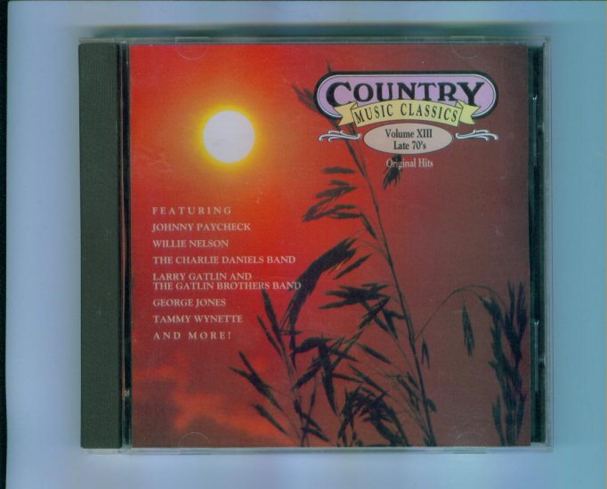 Country Music Classics CD Volume XIII Late 70's