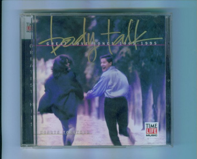 Time Life Music - Body Talk Great Love Songs 1965 - 1995 Hearts Together CD