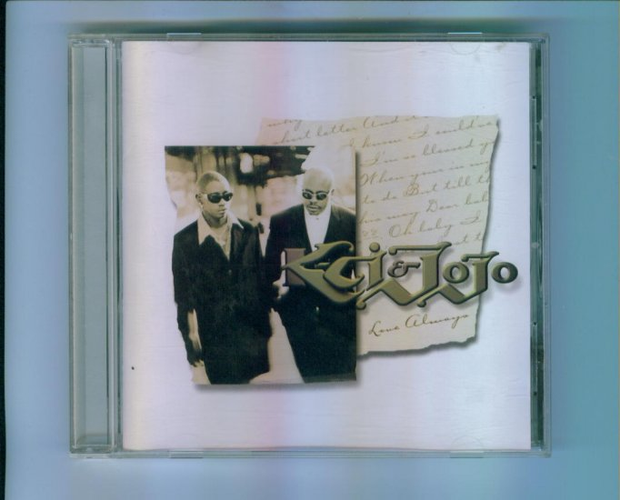 K-CI & JOJO Love Always CD Pop Rock Music
