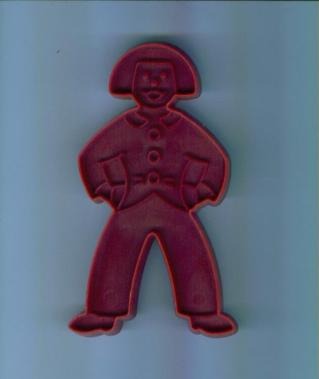 Old Vintage Plastic Cookie Cutter Cutters ~ Ronald McDonald with Handle Boy