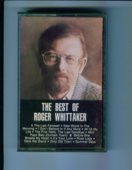 The Best of Roger Whittaker Cassette Music