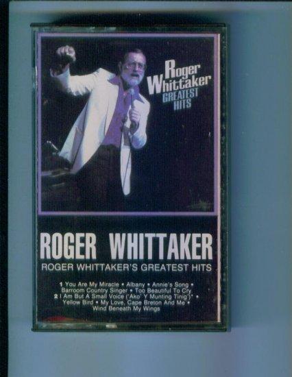 Roger Whittaker Roger Whittaker's Greatest Hits Music Cassette box1