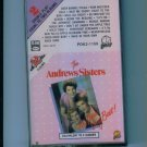 The Andrew Sisters At Their Very Best Music Cassette