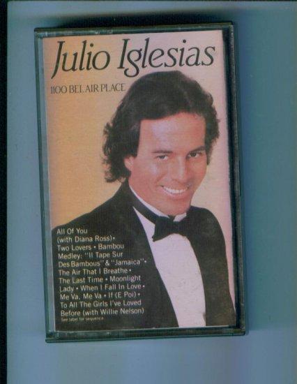 Julio Iglesias 1100 Belair Place Music Cassette