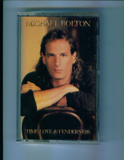 Michael Bolton Time Love & Tenderness Music Cassette Columbia