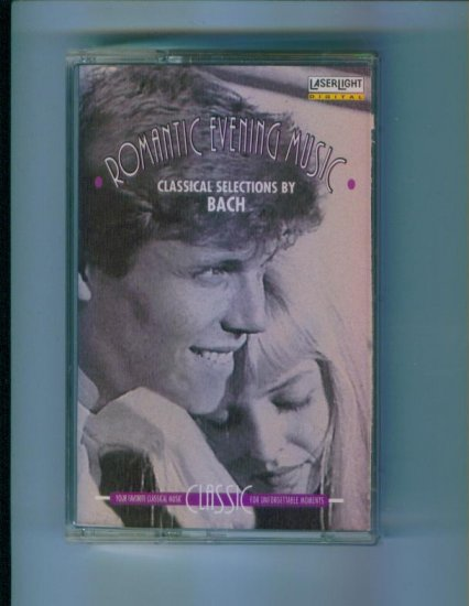 Romantic Evening Music Classical Selections by Bach Cassette Laserlight