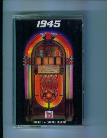 Time Life Music Your Hit Parade 1945 Cassette Rare Hard to Find