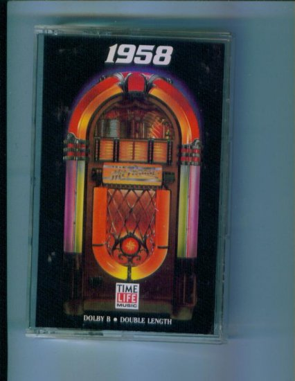 Time Life Music Your Hit 1958 Cassette Rare Hard to Find