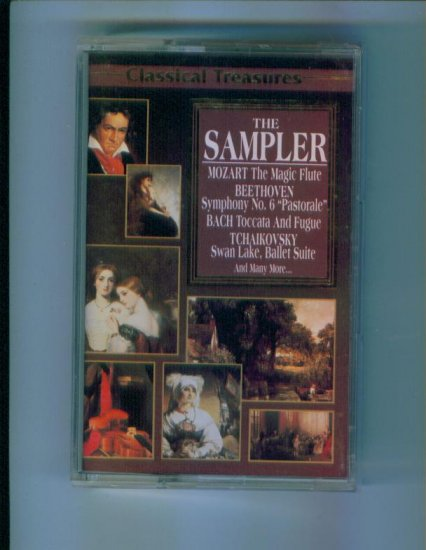 Classical Treasures The Sampler Cassette Classical Music