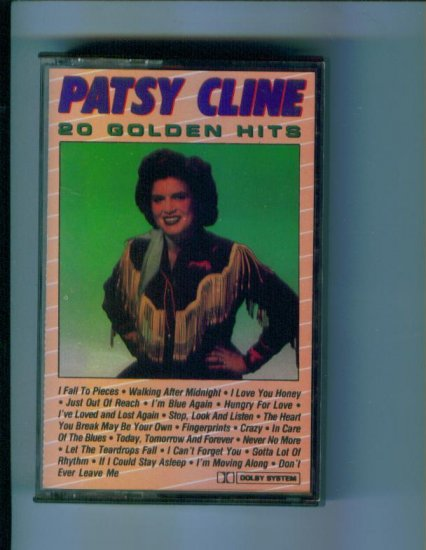 Patsy Cline 20 Golden Hits Music Cassette