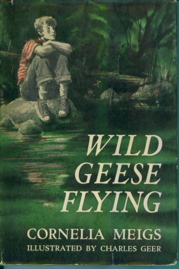 Vintage Wild Geese Flying Cornelia Meigs Hardcover Book