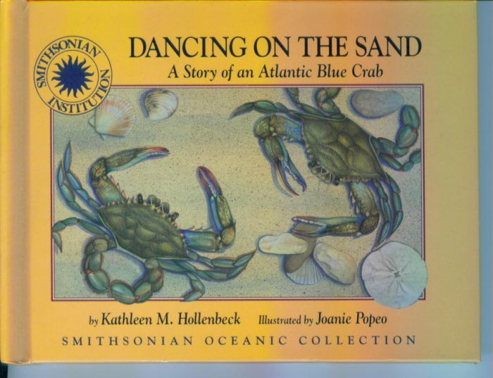 Dancing On The Sand By Kathleen M Hollenbeck HC Smithsonian Oceanic Collection