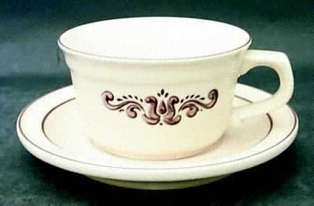 Pfaltzgraff Village Dinnerware Dishes - Cup & Saucer Mug Set