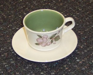 Taylor Smith & Taylor Taylorstone Concord Cup & Saucer Set 1968 China Dinnerware