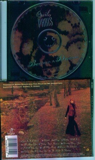 TWILA PARIS ~ Beyond A Dream ~ Inspirational Music CD