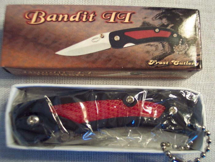 Bandit II Folding Pocket Knife ~ Sporting Goods ~ Frost Cutlery