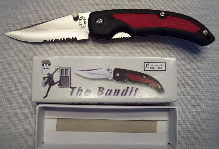 THE BANDIT Folding Pocket Knife ~ FROST CUTLERY ~ Sporting Goods ~ 15-364B/R
