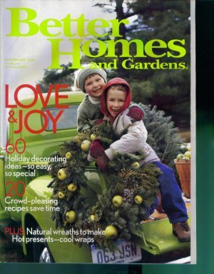Better Homes And Gardens Magazine December 2003 Mint Copy Back Issue