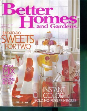 Better Homes and Gardens Magazine ~ February 2004 ~ Gently Read Copy Back Issue