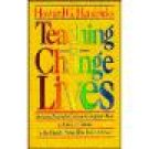 Teaching to Change Lives ~ Howard G Hendricks ~ Paperback ~ Church Home Bible Study School Resource