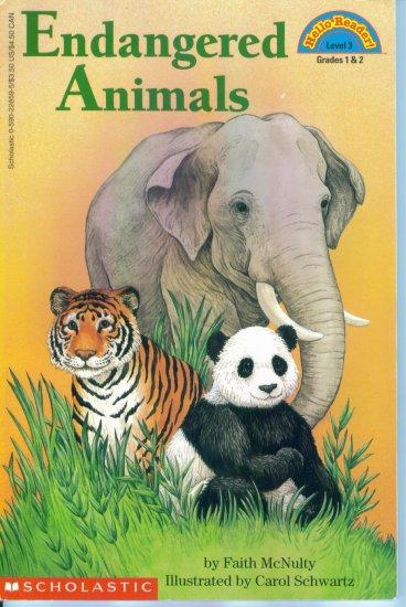 Hello Reader ! Level 3 Endangered Animals Faith McNulty Paperback location102