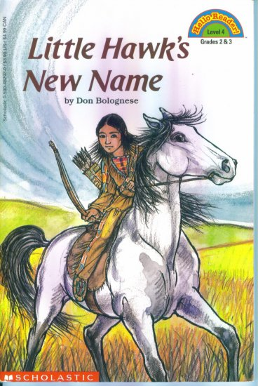 Hello Reader ! Level 4 Little Hawk's New Name Chapter Book location102