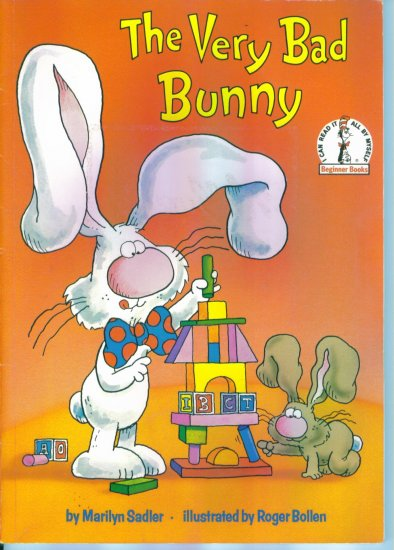 I Can Read It All By Myself Beginner Books The Very Bad Bunny Marilyn Sadler Paperback location102